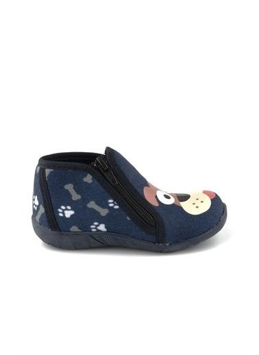 Cicibebe Doggy Erkek Çocuk Ev Ayakkabısı Lacivert